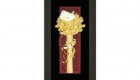 Bông hoa hồng dát vàng 5